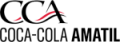 The company logo for Coca-Colo Amatil