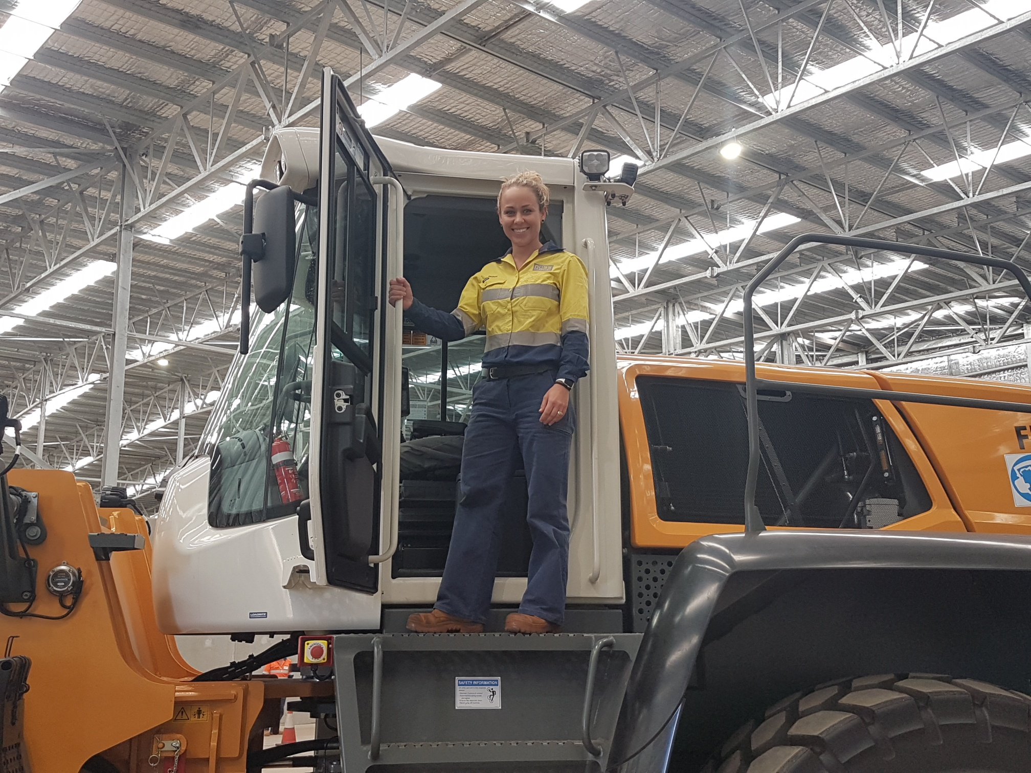 Emma Battelley – Pilbara Health, Safety and Environment Manager, Qube Ports and Bulk